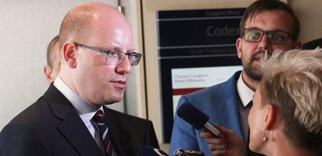 Pavel Dudr: Trestní oznámení na premiéra Sobotku – vlastizrada