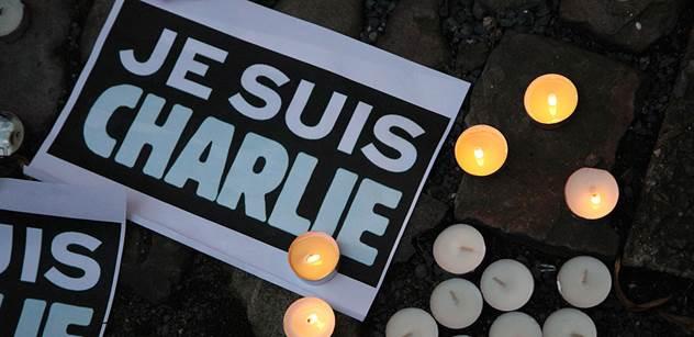 Publicista se postavil za Halíka, který není Charlie. Západní kultura prý nestojí jen na provokaci