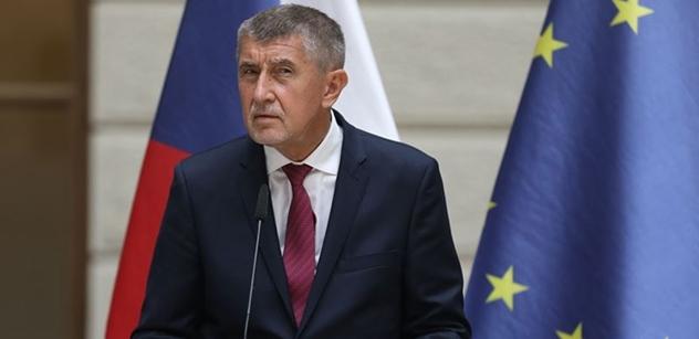 Premiér Babiš: Upřímnou soustrast rodinám zemřelých