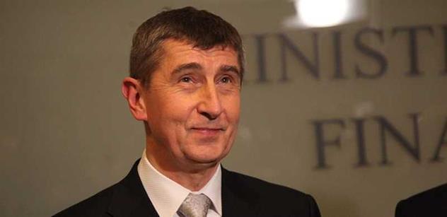 Ministr Babiš: Chci snížit limit provozních nákladů pojišťoven o 10 procent