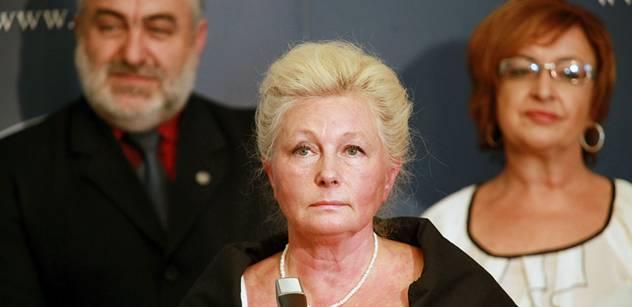 Roithová podala oficiálně kandidaturu na prezidentku