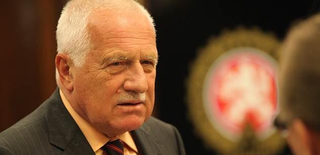 Václav Klaus učinil vážný krok proti imigrantům. Právě spustil vlastní petici