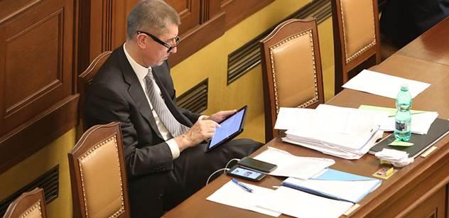 Ministr Babiš: Fakt tomu nerozumím