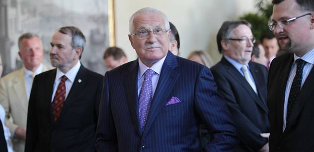 Prezident Klaus: Federalizaci Evropy odmítám