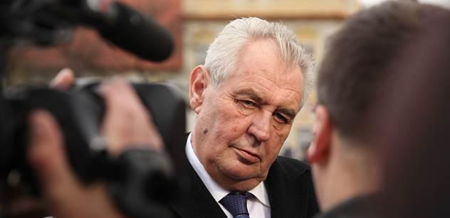 Miloš Zeman se vyjádřil k úmrtí Ransdorfa