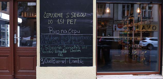 """""""Občanská neposlušnost"""" pokračuje: Po republice se začínají otevírat restaurace, navzdory nařízením vlády"""