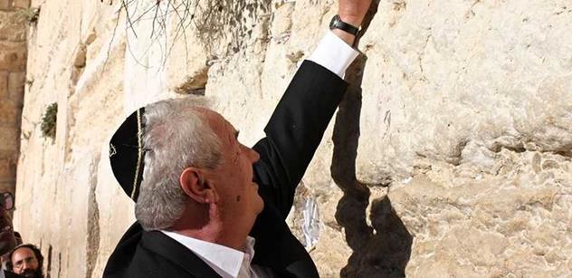 Velvyslancem v Izraeli se stane šéf rozvědky Ivo Schwarz