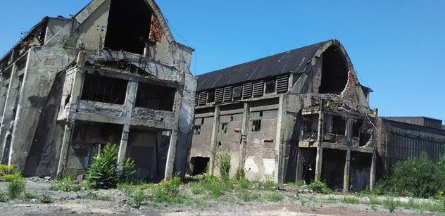 FOTO Město duchů a bez historie. Strašidelná návštěva bývalé slavné Poldovky