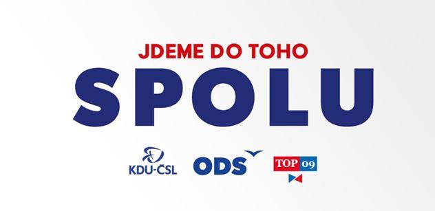 """SPOLU: V dubnu spustíme kampaň """"Dáme Česko dohromady"""""""