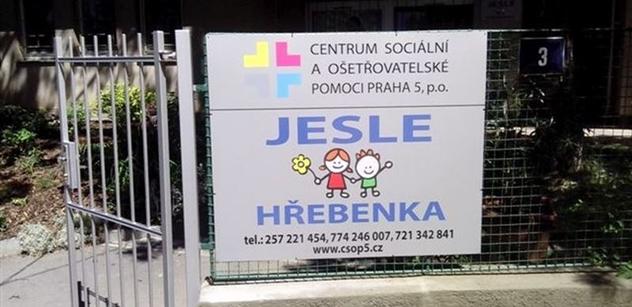Praha 5: Co je nového v jeslích  na Hřebenkách