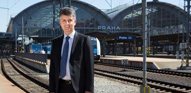 Železnice na letiště už není sci-fi. Modernizovaná trať nastartuje i rozvoj Kladna, říká generální ředitel Správy železniční dopravní cesty Jiří Svoboda