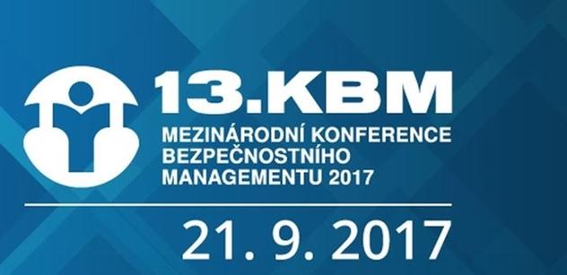 """KBM 2017: Jaký je současný """"stav bezpečí"""" z pohledu SBS a ASIS v České republice?"""