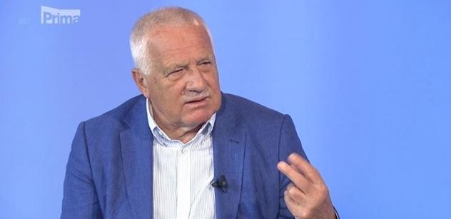 FOTO To je poprvé: Václav Klaus terčem posměchu za své oblečení