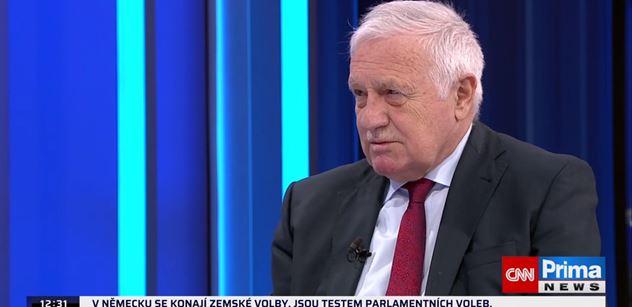 Vyléčený Václav Klaus rozjel v Partii smršť: Deset měsíců chtěli v podstatě zastřelit každého bez roušky. A teď nemá rouška cenu?!