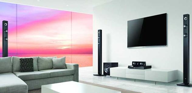 LG předvedlo řadu vedoucích audio a video produktů se zvýšenou konektivitou