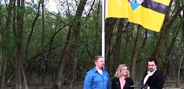 EXKLUZIVNÍ VIDEO Takto vypadá Liberland, stát, který založil v Evropě český politik