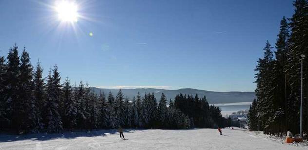 Na Lipně jsou nejlepší podmínky letošní zimy