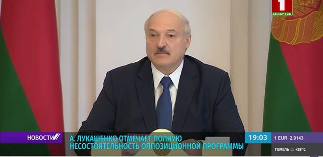 Ukrajina, jak dopadla? USA s námi mají plán, soptil Lukašenko. Rusko, EU... Vážný projev. A měl dohru