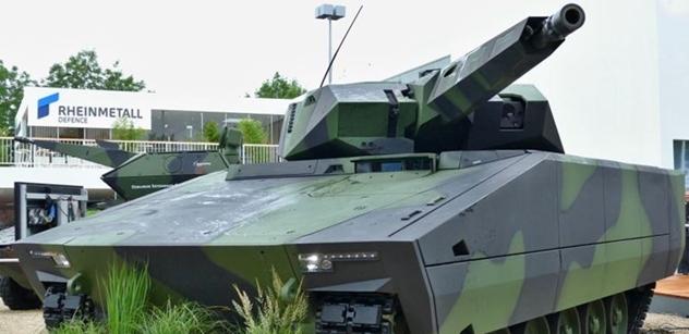 Petr Brandtner: Rheinmetall je mimo hru v tendru na nástupce vozidel Bradley pro americkou armádu