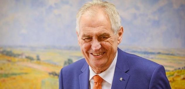 HK ČR: Prezidenta Miloše Zemana do Rakouska doprovodí podnikatelská delegace
