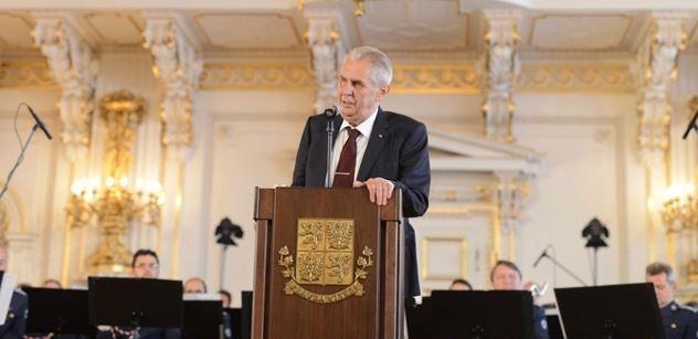 Zeman dnes jmenuje Mazance předsedou Nejvyššího správního soudu