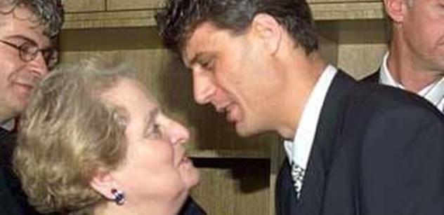 Bomba: Albrightová opět řeší Balkán. V Srbsku se skloňuje šílená věc: Uznat Kosovo, nebo nám vymění prezidenta?