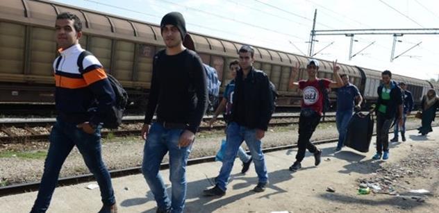 Vláda plánuje dát na pomoc uprchlíkům 168 miliónů