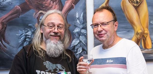 Praha 5: Zahájení výstavy obrazů Phantasma aneb Bytosti z nevědomí v Komunitním centru Prádelna