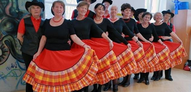 Praha 5: Marietta – seniorský taneční soubor z Komunitního centra Prádelna