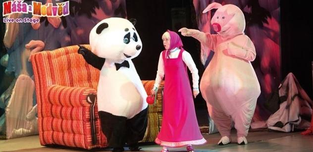 JVS GROUP: Na pohádkovém muzikálu Máša a Medvěd se děti zapojí do děje