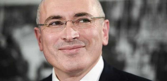 Chodorkovskij: Putin padne, až prázdná lednička porazí televizi. Až se Rusové budou mít zle
