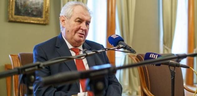 Prezident totálně rozsápal redaktora Českého rozhlasu Rozsypala a šokoval úderem na Romancovovou