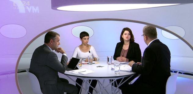 Moravec se posmíval Maláčové: Vy to nejste schopni prosadit. A za to nemohou moderátoři veřejnoprávní televize...