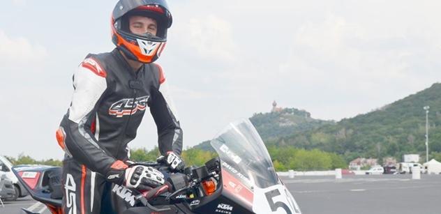 Autodrom Most: David Kubáň v Mostě trénoval na srpnový závod IDM