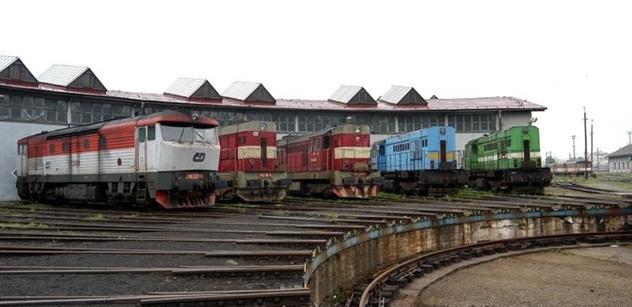 Železniční depozitář NTM v Chomutově navštívila britská velvyslankyně