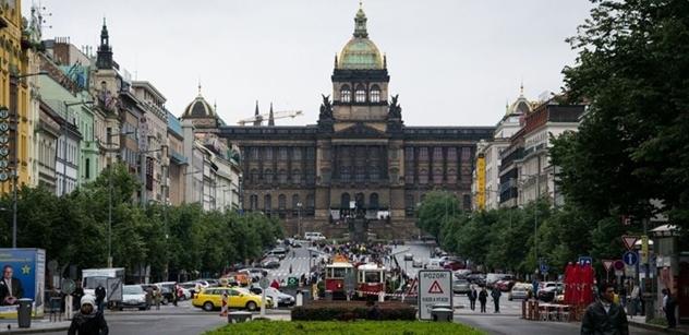 Národní muzeum: Uctění památky Ryszarda Siwiece, Sándora Bauera a Jana Palacha