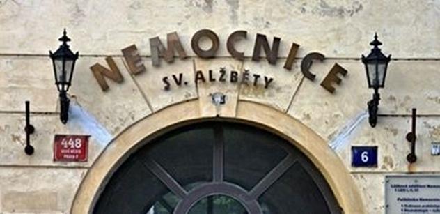 Věřitelé budou jednat o aktualizovaném reorganizačním plánu zadlužené Nemocnice sv. Alžběty