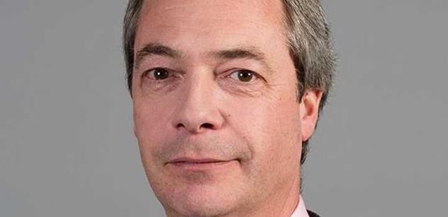 Nigel Farage se vrací. A kdo ho nemá rád, ať raději ani nečte