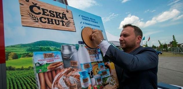 Albert podporuje české výrobky s novou značkou Česká chuť
