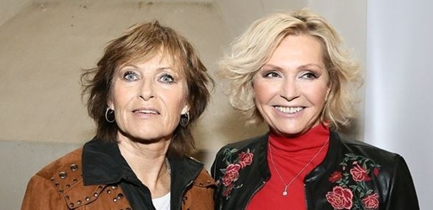 Olga Matušková a Helena Vondráčková uctily  na Vyšehradě památku Waldemara Matušky