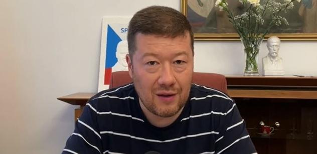 Okamura (SPD): Odmítáme předávání dalších pravomocí do Bruselu