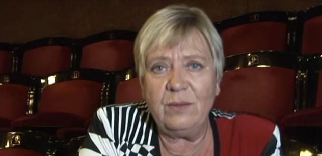 Známá levicová herečka vzpomíná na zážitek s Milošem Zemanem... A hodně vybočuje z řady umělců stanovisky k dnešku