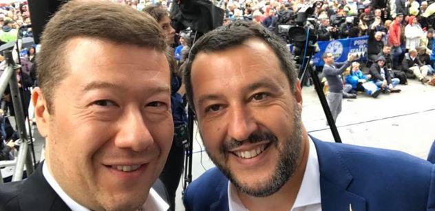 Okamura (SPD): Dopis předsedkyni italského senátu