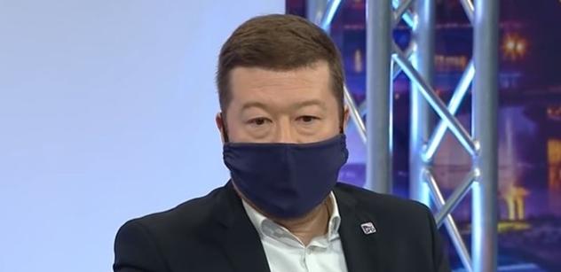Okamura (SPD): Pandemie odhalila, že globalismus s EU naprosto selhal