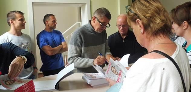 Andrej Babiš v regionu nastínil své hlavní volební téma: Bezpečnost. Vlastní imigrační politika. Ne diktát z Bruselu. A ten Putin...