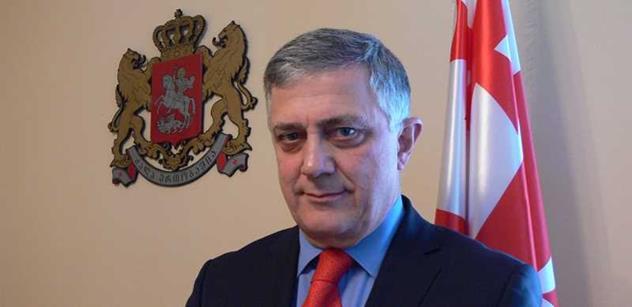 Velvyslanec Gruzie: To, co se stalo na Ukrajině, udělalo Rusko i nám. Putinovu imperiální politiku je třeba zastavit