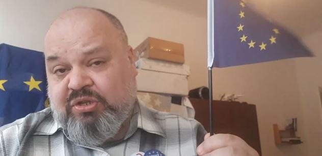 """""""Máme šanci získat Sputnik? Co to k*rva je!"""" Milovník EU vybuchl vzteky u novin"""