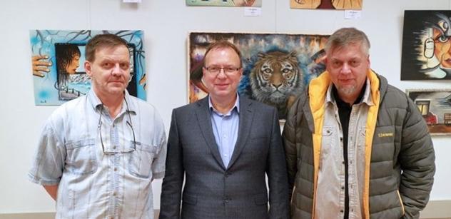 Praha 5: Výstava snových krajin Montiho Kubrika a Petra Hofmana v Komunitním centru Prádelna