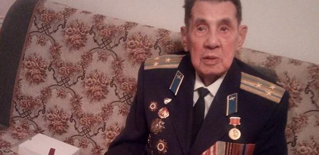 Sovětský veterán, 97 let: Vlasovci? Žádná armáda. Koněv byl tvrdý, zlatem vyvážit. A vy Češi...