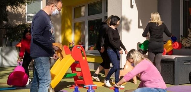 Centrum sociální a ošetřovatelské pomoci Praha 5 obnovuje provoz v jeslích Hřebenka